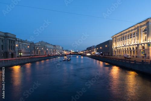 Keuken foto achterwand Noord Europa Canals of St. Petersburg
