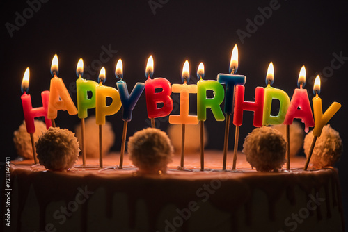 Amazing Low Light Dark Background Lit Happy Birthday Candles Cake Buy Funny Birthday Cards Online Elaedamsfinfo