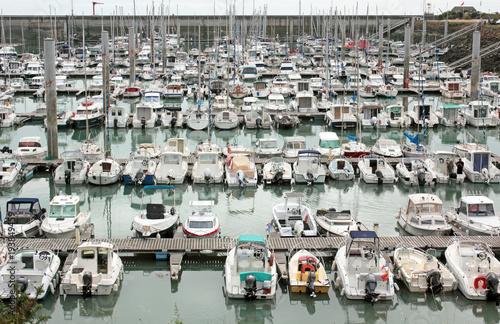 Foto op Plexiglas Arctica Granville port de plaisance Normandie