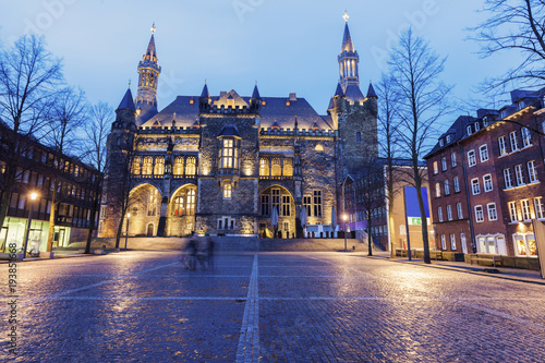 Aachen Town Hall Canvas Print