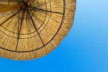 Beach Parasol In The Sun