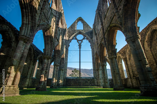 Recess Fitting Ruins Tintern abbey