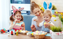 Happy Easter! Family Mother An...