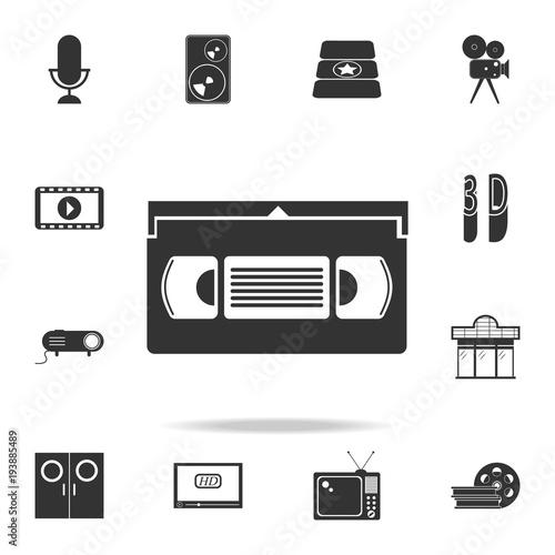Fényképezés  video cassette icon