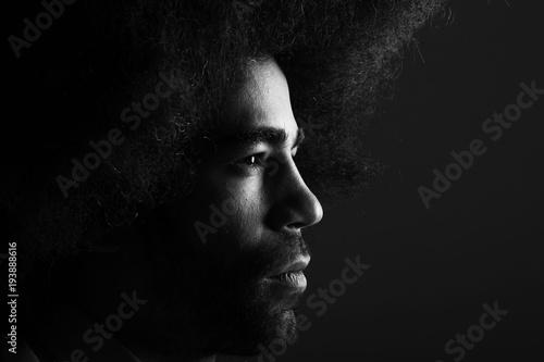 Afro man