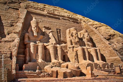 Fotografia, Obraz  Abu Simbel