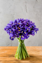iris flowers bouquet