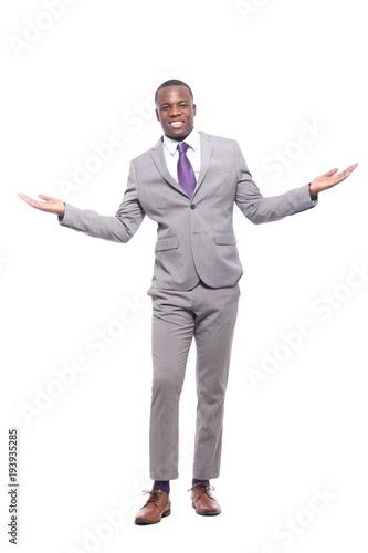 Deurstickers Ontspanning Black man