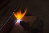 solder copper pipe