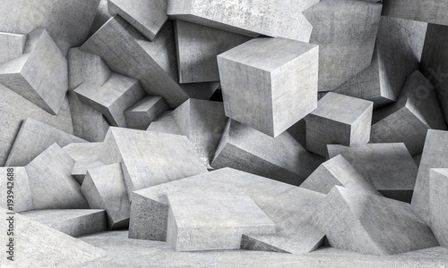 geometric concrete background
