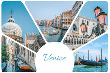 Photo Collage From Venice - Go...