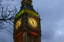 Detail Of Clock On Big Ben In ...