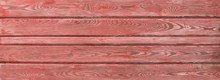 Old Weathered Rusty Red Wood S...