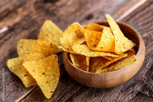 Fotografía  assortiment de nachos