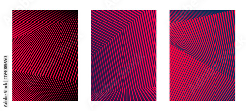 design element minimalism background image line from thick to thin10