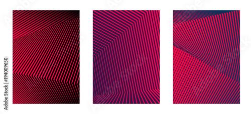 Obraz design element minimalism background image line from thick to thin10 - fototapety do salonu