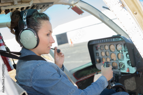 Fotografie, Tablou  first flight in life