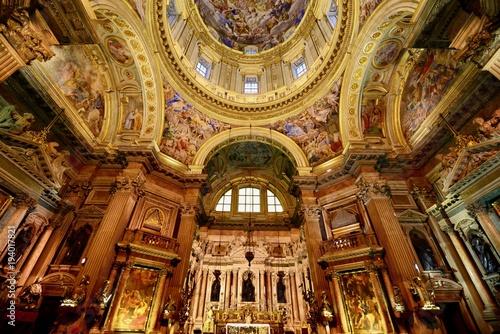 ナポリの教会とスナップ
