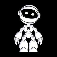 Bot Alien Vector