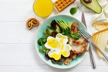English Breakfast - Fried Egg,...