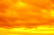 a fantastic yellow red sky. apocalyptic sky. background.