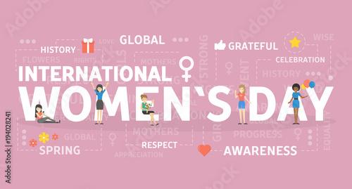 Fotografía  International womans day.