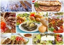 Turkish Foods Collage