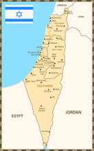 Israel Regions Orange