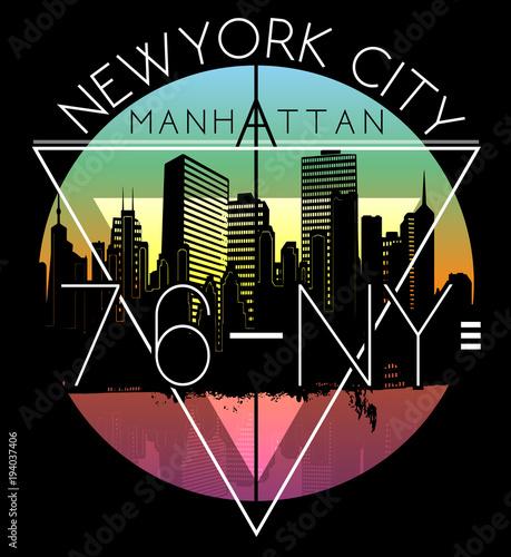 Projekt graficzny Newyork City