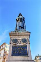 Giiordano Bruno Statue Campo De' Fiori Rome Italy