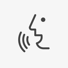 Voice Recognition Concept. Voi...