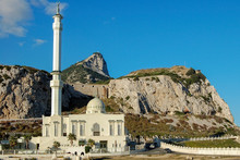 Ibrahim-al-Ibrahim Mosque At Europa Point, The Southernmost Point Of The Rock - Gibraltar