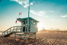 Lifeguard Cabin On Santa Monic...