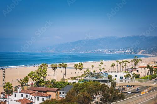 Zdjęcie XXL Widok na ocean Santa Monica