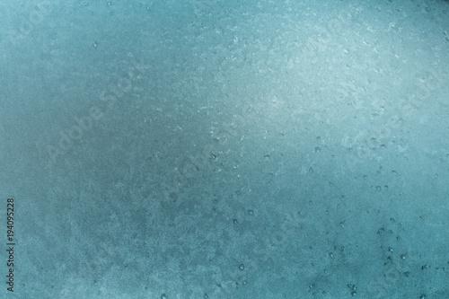 Fotografie, Obraz  givre froid gelée gel température hiver glace gratter fenêtre givré