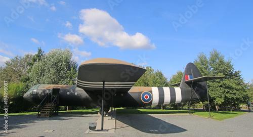 Horsa glider, Normandy