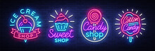 Sweets Shop Is Collection Logo...
