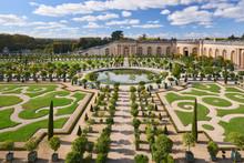 Versailles Gardens In The Gold...