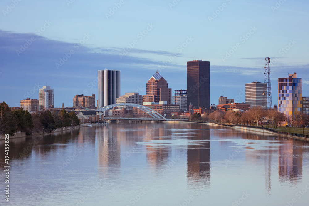Fototapety, obrazy: Rochester Skyline, USA.