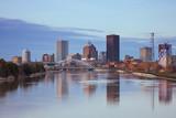 Fototapeta Nowy Jork - Rochester Skyline, USA.