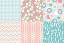 Vector Seamless Pattern. Zigza...