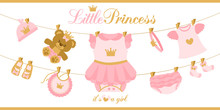 Little Princess Clothes Hangin...
