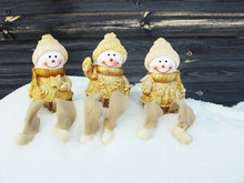 Happy Snowmen Christmas Greeti...