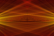 Concentrated Spiral Of Lines Pattern, Abstract Background - Concentrated Striped Pattern - Red And Yellow