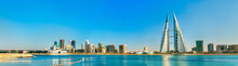 Skyline Of Manama Central Business District. The Kingdom Of Bahrain