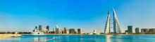 Skyline Of Manama Central Busi...
