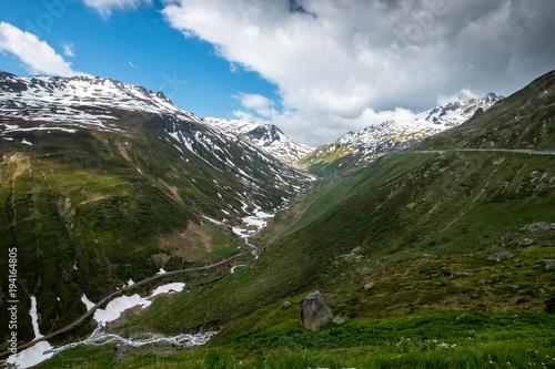 Zdjęcie XXL Autostrady w portach Alp