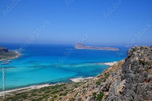 Papiers peints Bleu vert Creta, Greece