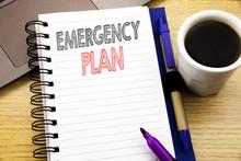Word, Writing Emergency Plan. ...