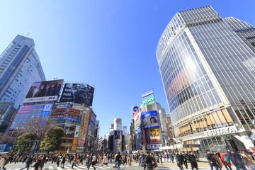 Fototapeta 渋谷スクランブル交差点